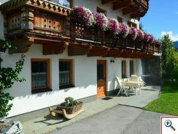 Terrasse bei Apartment Nikolaus